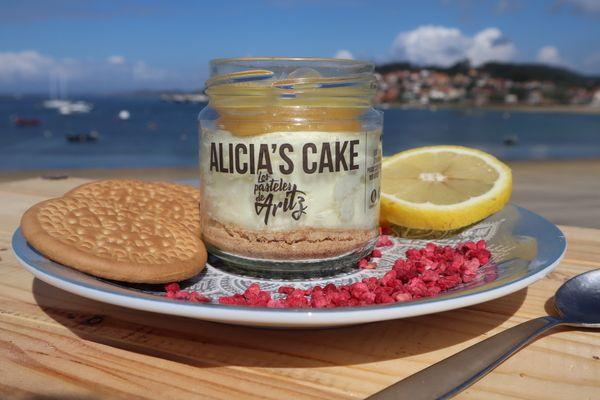 Alicias Cake de Mousse de Limón
